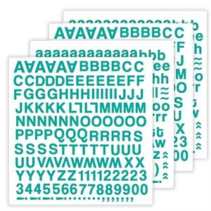 Picture of Blue Skies Aqua Alphabet Stickers *SALE* WHILE SUPPLIES LAST